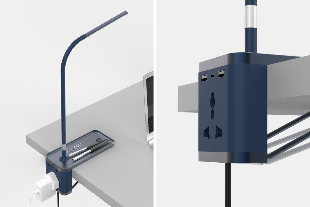 创意多功能桌边灯