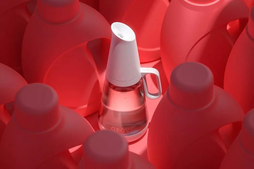 可重复使用的玻璃洗衣液瓶