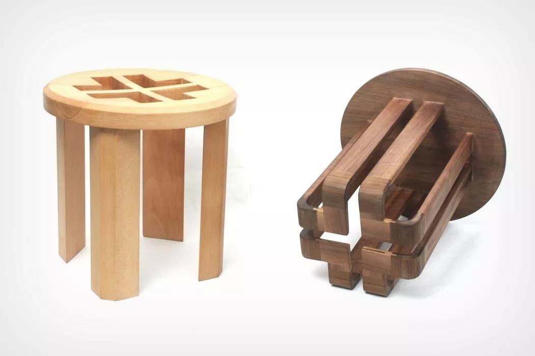 多功能嵌套凳子